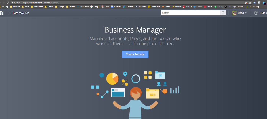 Facebook Business Manager Hesabı Açma