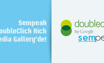 Sempeak, DoubleClick Rich Media Gallery'de!