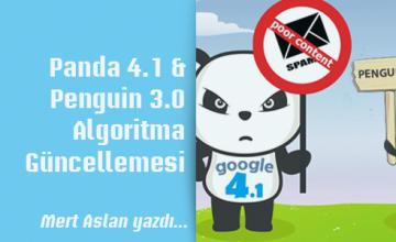 Panda 4.1 & Penguin 3.0 Algoritma Güncellemesi